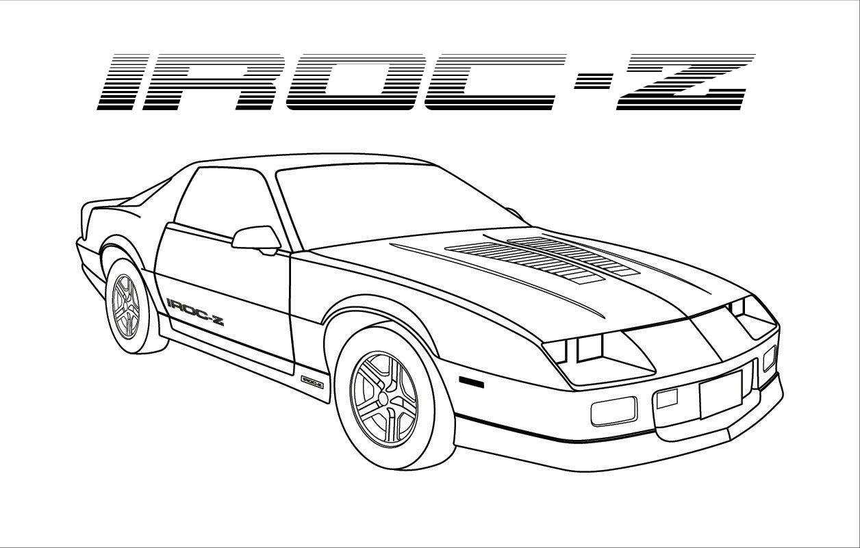 IROCIN   IROC Z Clip Art.